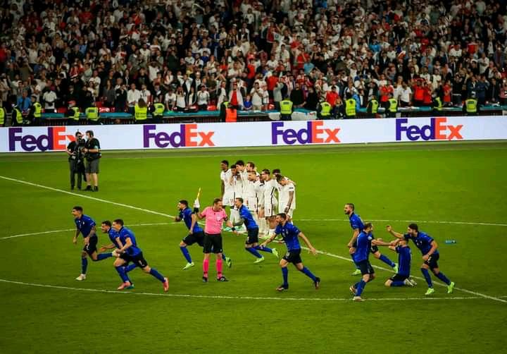 3 Fakta mencengangkan dari timnas Italy setalah mengalahkan Inggris di final Euro 2020