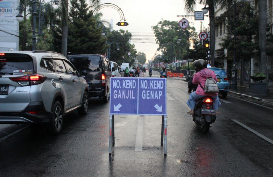 Apakah Uji coba Ganjil Genap Kota Bandung akan Diperpanjang ? Iptu Iman: