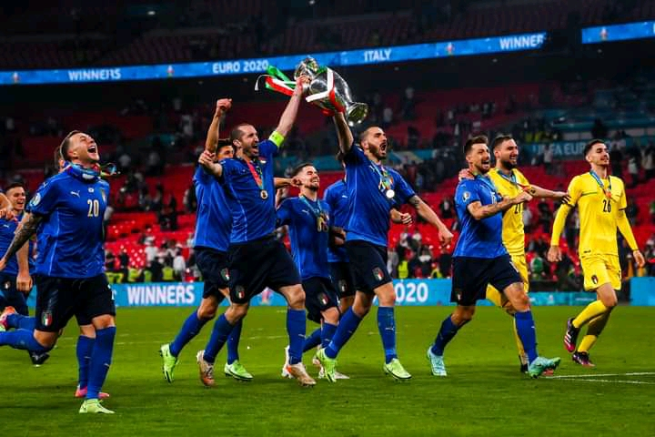 Highlight Final Euro 2020, Inggris takluk oleh Italy lewat Adu tendangan Penalti