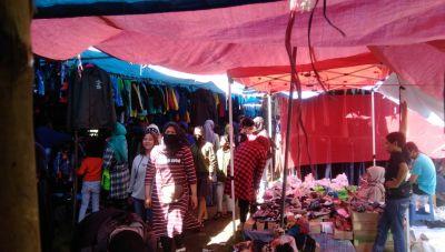 Antusias Warga Pangalengan Menyambut Lebaran Telihat di Pasar Minggu